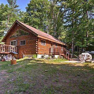 Thunder Cove Cabin Manistique Cabin With Lake View! photos Exterior