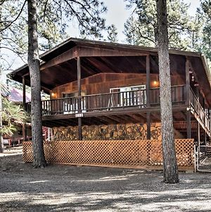 Ruidoso Cabin With Forest Views - Mins To Ski Apache photos Exterior