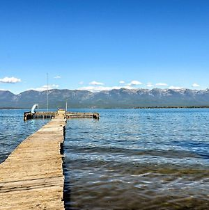 Polson Home On Flathead Lake With Pvt Dock And Mtn Views! photos Exterior