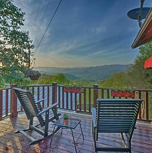 Quaint Bryson City Cottage With Smoky Mountain Views! photos Exterior