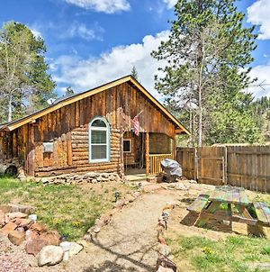 Rustic Log Cabin With Studio About 5 Mi To Pikes Peak! photos Exterior
