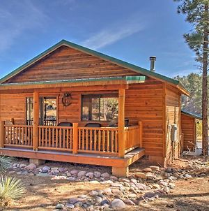 Rustic Show Low Cabin Less Than 3 Mi To Fool Hollow Lake! photos Exterior
