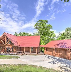 Private Eureka Springs Cabin With Beaver Lake Views! photos Exterior