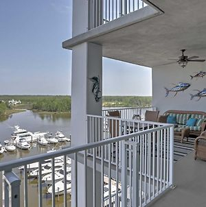 Orange Beach Resort Condo With Scenic Marina Views! photos Exterior