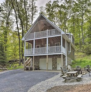 Cozy Old Forge Home With 2 Porches, Fire Pit, Hot Tub photos Exterior
