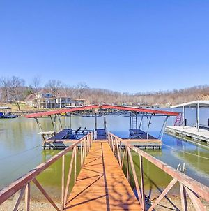 Waterfront Lake Of The Ozarks Cabin With Boat Dock! photos Exterior