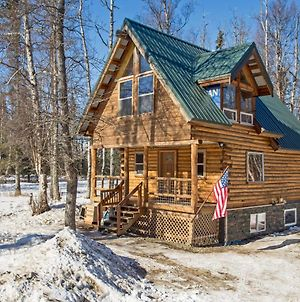 Cozy Palmer Log Cabin Close To Matanuska River! photos Exterior
