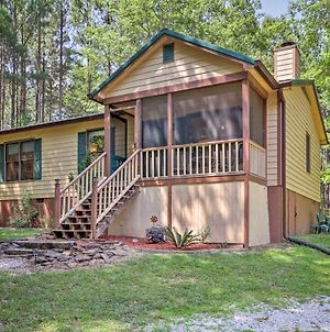Cozy Pine Mountain Cabin With Screened Porch & Yard! photos Exterior
