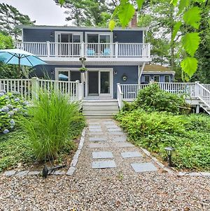Mashpee House With Wraparound Deck - Walk To Beach! photos Exterior