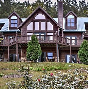 Grand Ellijay Cabin With Mountain Views And Pool Table! photos Exterior