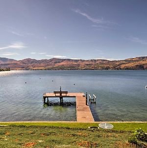 Waterfront Manson Cabin On Lake Chelan With Deck! photos Exterior