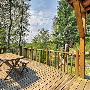 Stutts Creek Retreat - Riverfront Cabin With Fire Pit photos Exterior