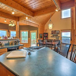 Luxe Alpine Cabin With Wraparound Deck And Mtn Views! photos Exterior