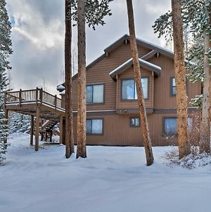 Retreat With Hot Tub About 1 Mi To Slopes And Main St Breck photos Exterior