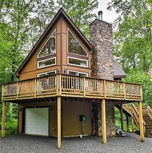 Private Chalet With Pool Table 1 Mi From Lake! photos Exterior