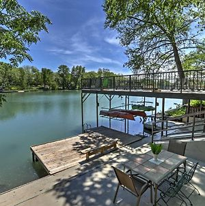 Waterfront 'Guadalupe River Lodge' Home With Dock! photos Exterior