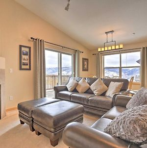 Picturesque Silverthorne Condo With Pool And Views! photos Exterior
