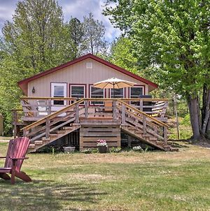 Lakefront Wakefield Cottage With Deck And Water Views! photos Exterior