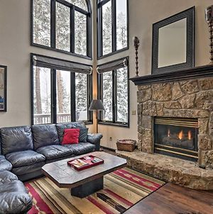 Idyllic Forested Breck Home Hot Tub And Ski Shuttle photos Exterior