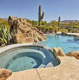 Cave Creek Oasis With Putting Green, Spa & Mtn View! photos Exterior
