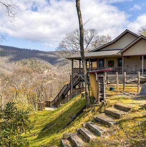 Maggie Valley Home With Mtn Views & Screened Porch! photos Exterior