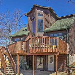 Crosslake House With Private Boat Landing & Deck! photos Exterior