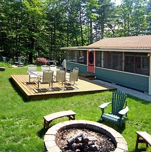 Lakefront Ossipee Cottage With Screened Porch & Deck! photos Exterior