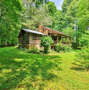 Private And Cozy Dobson Cabin On 6 Acres Of Land! photos Exterior