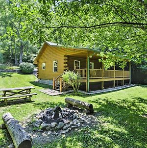 Fox Creek Hillside Cabin With Hot Tub And Fire Pit! photos Exterior