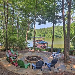 Lakefront Jacksons Gap House With Deck, Dock And Views photos Exterior