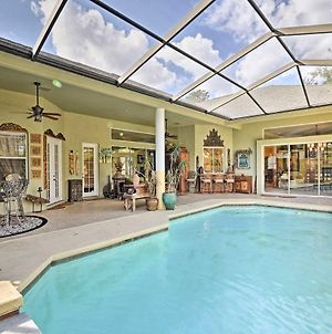 Luxurious Home With Private Pool And Lanai Near Tampa! photos Exterior