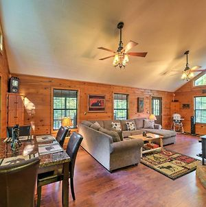 Private Ellijay Cabin With Deck, Fire Pit & Amenities photos Exterior