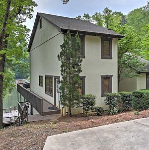 Waterfront Lake Lure Home With 2-Level Deck And Views! photos Exterior