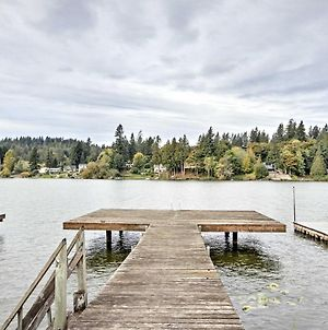 Lakefront Port Orchard Home With 2 Decks And Hot Tub! photos Exterior