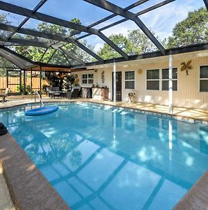 Sarasota Home With Private Pool And Patio Near Beach! photos Exterior