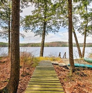 Lakeside Francestown Home With Private Dock And Porch! photos Exterior