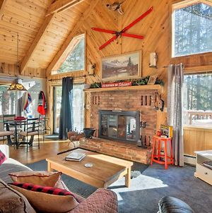 Alma Cloud 9 Cabin With Fireplace And Wooded Views! photos Exterior