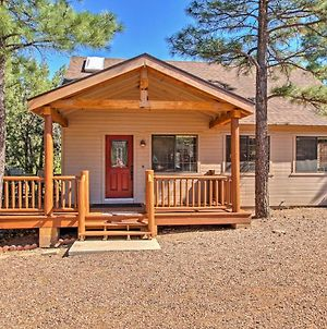 Show Low Home With Deck About 2 Mi To Fool Hollow Lake! photos Exterior
