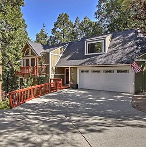 Spacious Lake Arrowhead Home With Game Room And Deck! photos Exterior