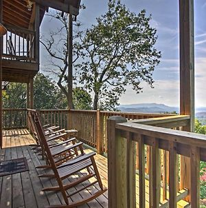Cabin With Movie Theater, Game Room And Smoky Mtn Views photos Exterior