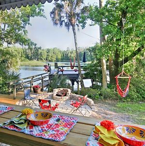 Riverside Dunnellon House With Private Dock And Kayaks! photos Exterior
