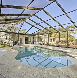 Waterfront Home With Pool And Dock Walk To Hard Rock! photos Exterior