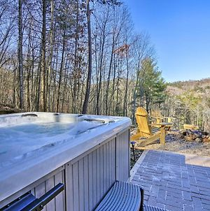 Deer Park Cabin! Blue Ridge Home With Hot Tub And Views photos Exterior