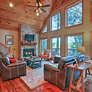 Blue Ridge Cabin With Wooded Views, Deck & Hot Tub! photos Exterior