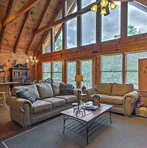 Smoky Mountain Cabin With View From Hot Tub And Deck! photos Exterior