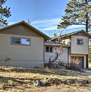 Estes Park House With Deck, Mtn Views And Hot Tub! photos Exterior