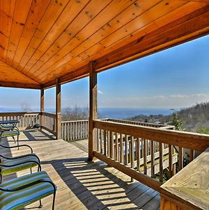 Warm And Cozy Cabin With Deck On Top Of The Blue Ridge! photos Exterior
