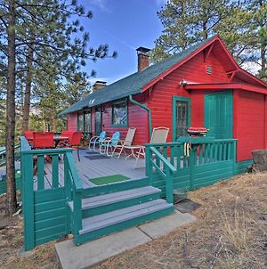 Faraway Cabin With Mtn View And Deck In Estes Park! photos Exterior