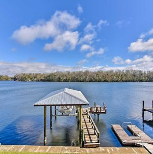 Homosassa Home With Private River Dock & Boat Ramp! photos Exterior