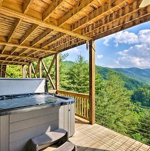 Private Blue Ridge Home With Mountain Views And Hot Tub photos Exterior